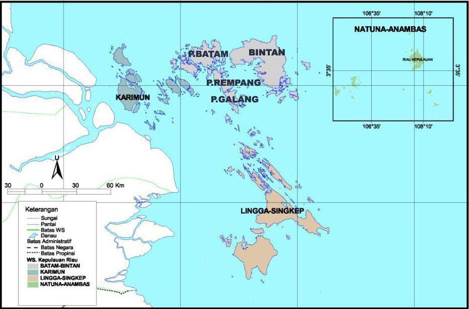 Peta Kepri