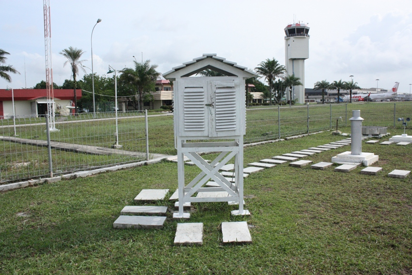 Galleri Alat Meteo, Sangkar Meteorologi