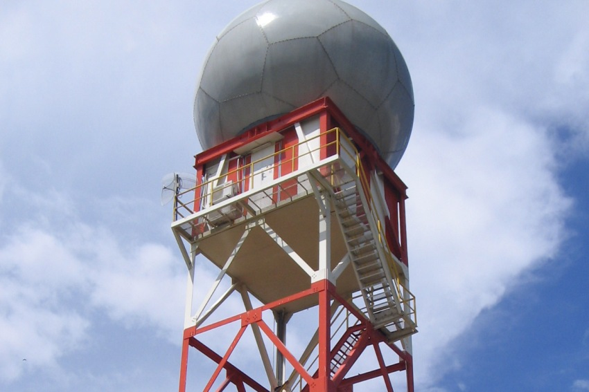 Galleri Alat Meteo, Tower Radar