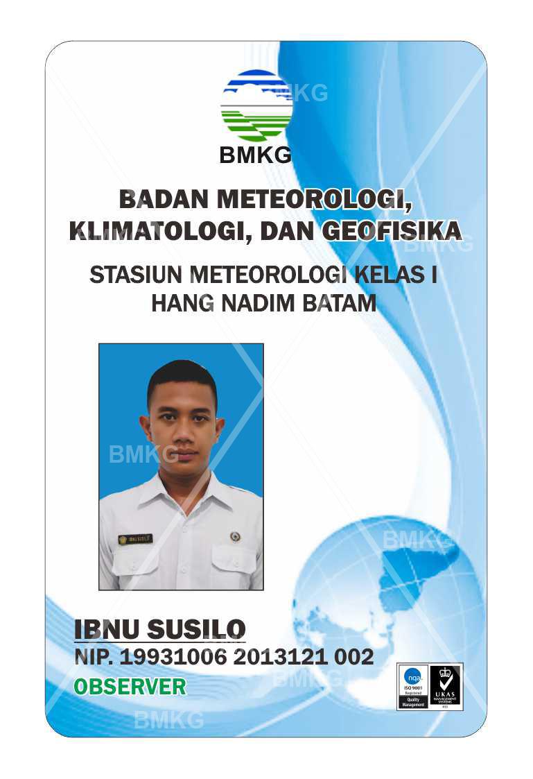 Pegawai IBNU SUSILO, FORECASTER