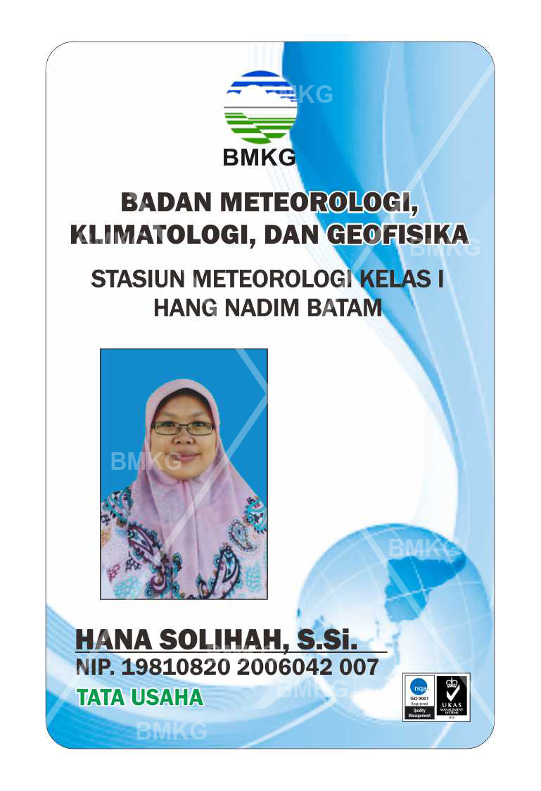 Pegawai HANA SOLIHAH, S.Si., DATA DAN INFORMASI