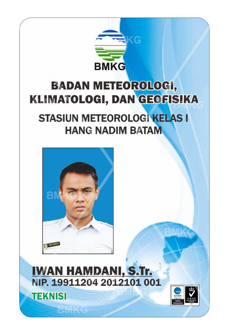Pegawai IWAN HAMDANI, S.Tr., TEKNISI