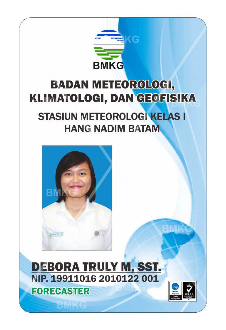 Pegawai DEBORA TRULY M, SST., FORECASTER