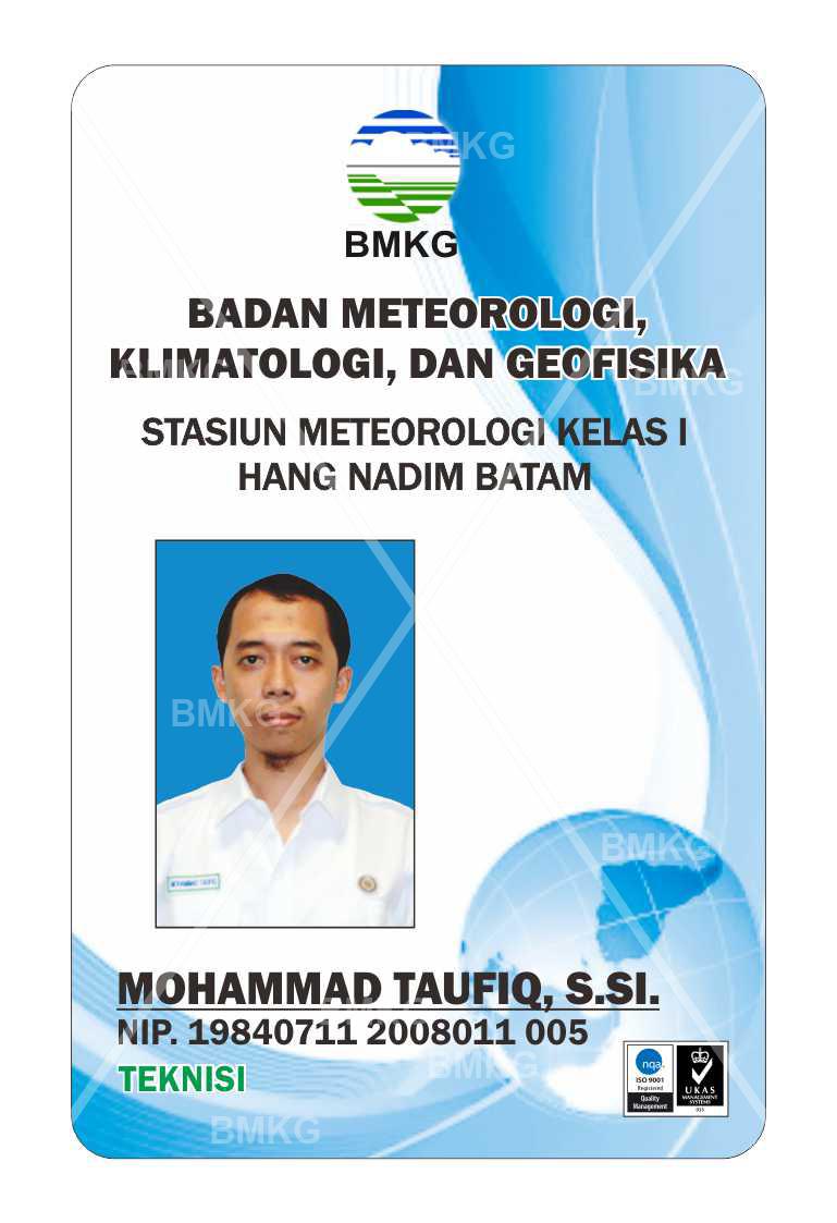Pegawai MOHAMMAD TAUFIQ, S.SI., TEKNISI